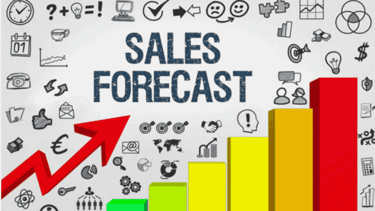 sales forecast why you should use one graph